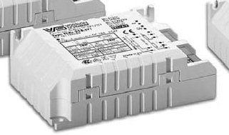 Электронный пускорегулирующий аппарат (ЭПРА/ дроссель/ балласт) ELXc 213.870 188698 для КЛЛ TC-SEL 1/2x9/11W, TC-DEL 1/2x10W, TC-DEL/TEL 1/2x13W. Vossloh-Schwabe, Германия