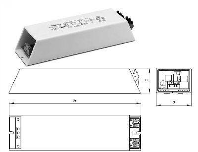 Зажигающее устройство (ЗУ / IGNITOR) горячего перезажигания HZ 600 K 147790 для газоразрядных ламп высокого давления 70-600Вт. Vossloh-Schwabe