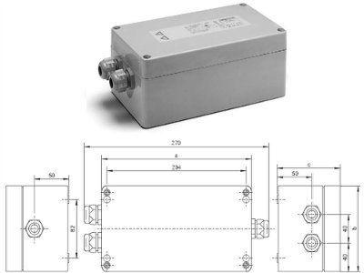 Зажигающее устройство (ЗУ / IGNITOR) горячего перезажигания HZ 1000 K 147791 для газоразрядных ламп 150-1000W. Vossloh-Schwabe