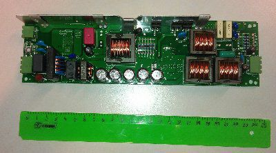 Электронный ПРА (ЭПРА/ дроссель/ балласт) для солярия ELXd 200UV.255 183004 220-240V на 2 лампы Т12 по 200Вт, Vossloh-Schwabe