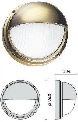 Cветильник MARO VISA 006966 пылевлагозащищённый настенный (PRISMA, Италия), IP 65