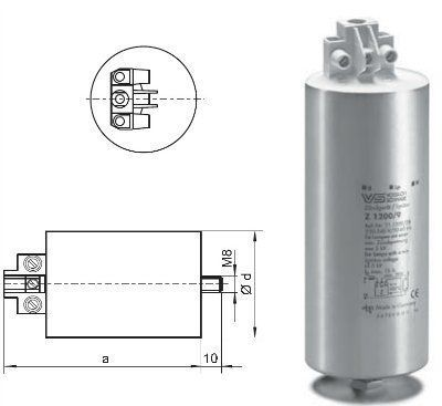 Импульсное зажигающее устройство (ИЗУ, игнитор, IGNITOR) Z 1200/9 140609 для проекционных ламп. Vossloh-Schwabe(Германия).