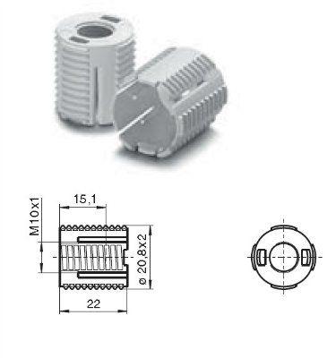 Защитный колпачок 97760 525583 для патронов G9 33800, 33906. Vossloh-Schwabe