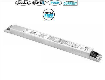 Драйвер (блок питания) 127087 T-LED 80/700 DALI SLIM диммируемый, универсальный 10-80W, 350 -700mA для LED источников света (светодиодных светильников). TCI, Италия