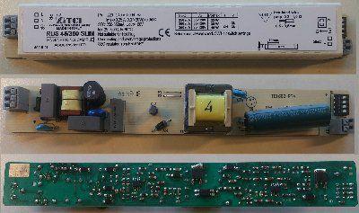 Драйвер (блок питания) 126112 RUS 45/350 SLIM 32-45W/250-350mA универсальный, с гальванической развязкой для офисных светильников для LED источников света (светодиодных светильников). TCI, Италия.