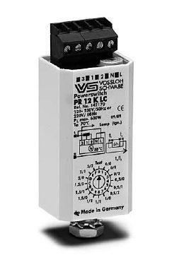 Электронные переключатели мощности PR 12 K LC 142170 для ДнАТ ламп до 600 Вт и ртутных ламп до 700 Вт. Vossloh-Schwabe, Германия