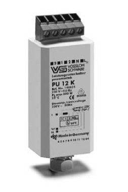 Электронные переключатели мощности PU 12 K 140621 для ДнАТ ламп до 600 Вт и ртутных ламп до 700 Вт. Vossloh-Schwabe, Германия