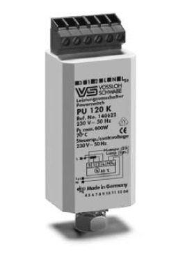Электронные переключатели мощности PU 120 K 140622 для ДнАТ ламп до 600 Вт и ртутных ламп до 700 Вт. Vossloh-Schwabe, Германия