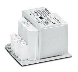 Электромагнитный ПРА (ЭмПРА / дроссель / балласт) NaHJ 70.128 539223 с термовыключателем с автоматическим восстановлением для натриевых и металлогалогенных ламп 70W. Vossloh-Schwabe, Германия.