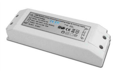Драйвер (блок питания) 127913 DC 45W 24V VPS MD диммируемый (IGBT e TRIAC) 24V, 45W для светодиодных лент. TCI, Италия.