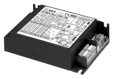 Драйвер (блок питания) 127054 DC MAXI JOLLY DALI HBI универсальный, диммируемый по протоколам: DALI, 1-10 V, PUSH. 1-65W, 350-1200mA. для LED источников света (светодиодных светильников). TCI, Италия.