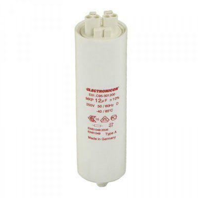 Конденсатор компенсирующий 4,5 µF (мкФ) E01.B70-394500/420001 в пластиковом корпусе, подсоединение Wago, DxH 25x70мм . Electronicon, Германия)