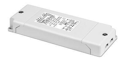 Драйвер (блок питания) 122314 DC LED 24V EFUR диммируемый по протоколу 1-10 V для LED источников света (светодиодных светильников, лент) 24V, 0-25W. TCI, Италия.