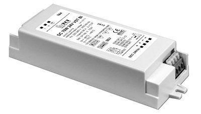Драйвер (блок питания) 122772 DC 50W 24V VST BI стабилизированный по постоянному напряжению 24V, 0-50W. Возможно диммирование по 1-10V. TCI, Италия