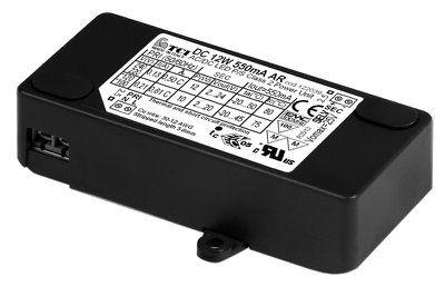 Драйвер (блок питания) 122038 DC 14W 350mA AR для LED источников света (светодиодных светильников). TCI, Италия.