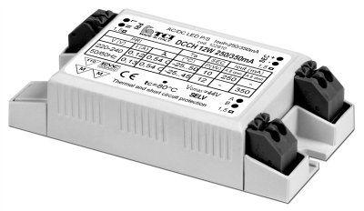 Драйвер (блок питания) 122611 DCC H 7W 140/180mA для LED источников света (светодиодных светильников), ультра компактный размер. TCI, Италия.