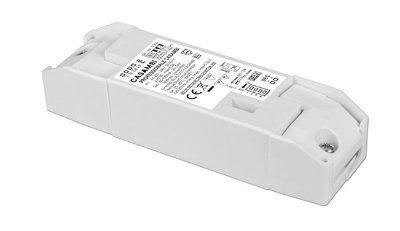 Драйвер (блок питания) 127630 PROFESSIONALE CASAMBI универсальный диммируемый по беспроводной сети Bluetooth по протоколу CASAMBI и/или PUSH, 0,9-38W, 300-1050 mA. TCI, Италия.