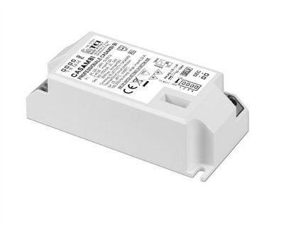 Драйвер (блок питания) 127631 PROFESSIONALE CASAMBI BI универсальный диммируемый по беспроводной сети Bluetooth по протоколу CASAMBI и/или PUSH, 0,9-38W, 300-1050 mA. TCI, Италия.