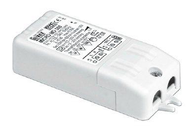 Драйвер (блок питания) 127040 MICRO MD 350 диммируемый (IGBT-TRIAC) 350mA, 3-10W для LED источников света (светодиодных светильников). TCI, Италия.