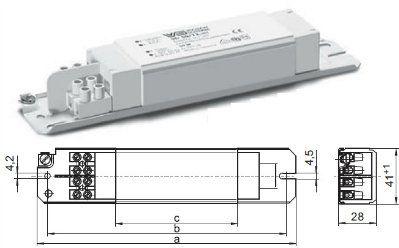 Электромагнитные трансформатор STr 60/12.338 179604 для галогенных ламп 40-60W, 12V. Vossloh-Schwabe, Германия.