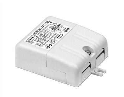 Драйвер (блок питания) 122426 DC MICRO JOLLY 6W 350mA диммируемый по протоколу 0-10V, 1-10V для LED источников света (светодиодных светильников). TCI, Италия.