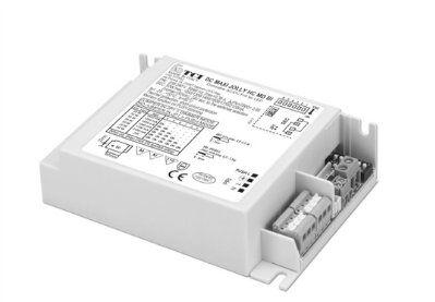 Драйвер (блок питания) 127552 DC MAXI JOLLY HC MDI BI диммируемый по протоколам IGBT/TRIAC, PUSH, универсальный 0-50W, 1,05-2,1A; 24V/50W (постоянное напряжение) для LED источников света (светодиодных светильников, лент). TCI, Италия.