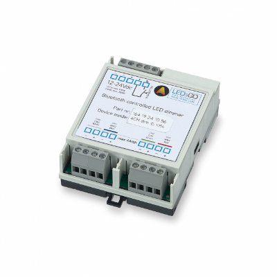 Контроллер 300 90 006 WIRELESS CONTROL 2 CHANNEL TUNABLE WHITE для управления светодиодной лентой по беспроводной сети Bluetooth по протоколу CASAMBI и/или PUSH, нагрузка 2*96W при 24V. DELTA LIGHT, LEDsGO.