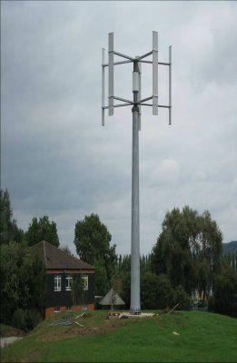 Ветроэнергетическая установка с вертикальной осью вращения EN-R6K