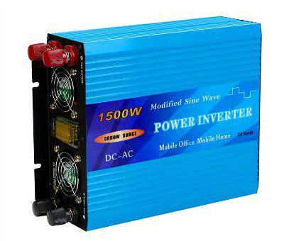 Инвертор 24V модифицированный синус, 1500W