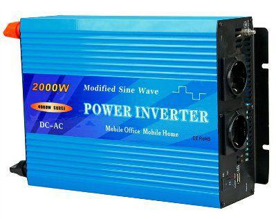 Инвертор 24V модифицированный синус, 2000W