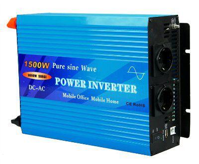 Инвертор 24V чистый синус, 1500W
