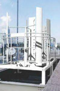 Ветроэнергетическая установка с вертикальной осью вращения EN-RR1K  (для монтажа на крыше)