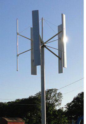 Ветроэнергетическая установка с вертикальной осью вращения EN-RR3K  (для монтажа на крыше)