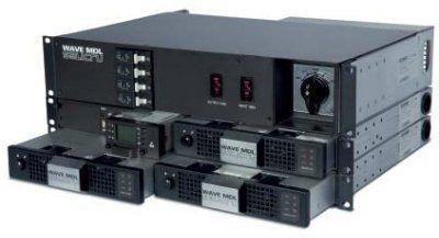 CS WAVE MDL 48V - высокоэффективная инверторная система модульного типа мощностью до 24 кВА, модулями мощностью   1 и 1,5 кВА.