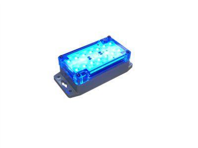 Светодиодный светильник светомаскировочный 24 вольта LA-5-24V-IP67blue