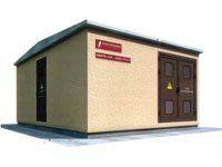 Подстанции трансформаторные комплектные (КТП) наружной установки в бетонной оболочке с двумя трансформаторами 2БКТП-100...1600/6(10)/0,4-У1