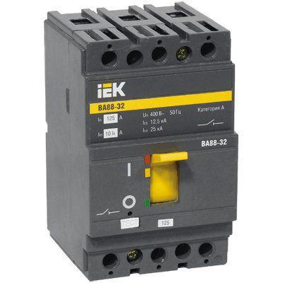 SVA10-3-0012 Автоматический выключатель ВА88-32 3Р 12,5А 25кА ИЭК