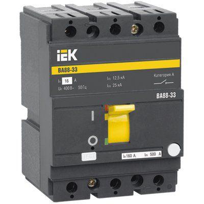 SVA20-3-0050 Автоматический выключатель ВА88-33 3Р 50А 35кА ИЭК