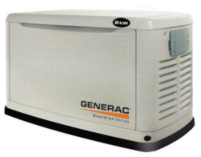 Generac 5914 - газовый генератор 8 кВт.