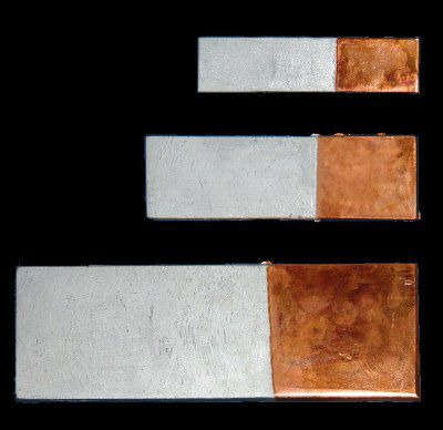 Пластина переходная медно-алюминиевая МА 50х6