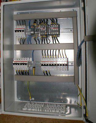 Щит автоматического ввода резерва АВР 2 ввода 25А/380В IP65
