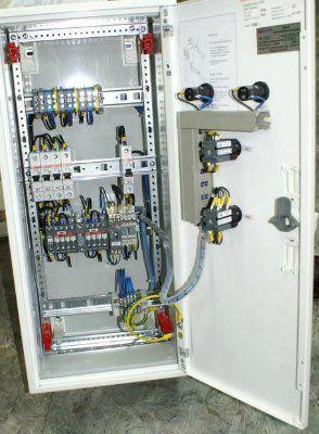Щит автоматического ввода резерва АВР 2 ввода 16А/220В IP43