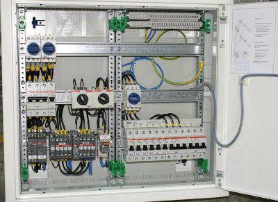 Щит автоматического ввода резерва АВР 2 ввода 32А/380В IP43