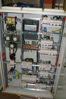 Щит ввода и учета ЩВУ ввод 80А/380В корпус 1250х800х260 IP54