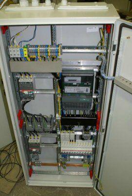 Главный распределительный щит ГРЩ с узлом учета эл. энергии 63А/380В корпус 1250х550х260 IP54