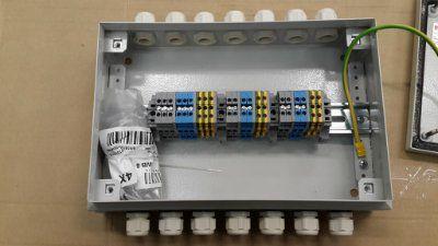 Коробка распределительная клеммная 200х300х80