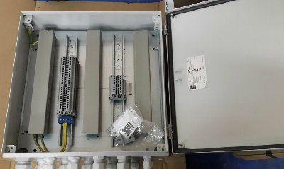 Коробка распределительная клеммная 400х400х120