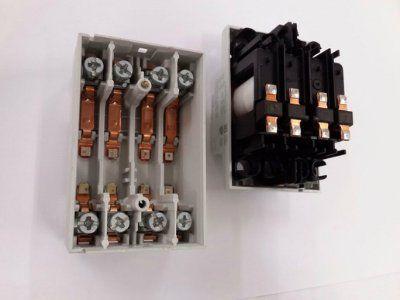 Модульный контактор ESB63-40 (63А AC1) катушка 220В АС/DC GHE3691102R0006