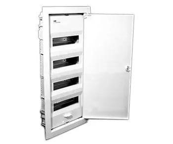 Шкаф для скрытой установки 4ряда 48(56) модулей UK540S 710х350х95 IP31