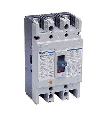 Автоматические выключатели NM1-100H/3300 в литом корпусе с фиксированным значением расцепителя (Chint Group Corp. Китай).